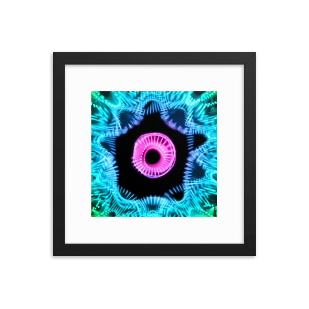 432 Hz Toroidal Portal Framed photo