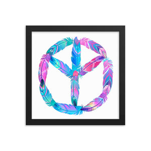 Tree Of Peace Framed photo poster