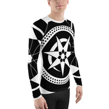Load image into Gallery viewer, Men's Rash GuardCrop Circles