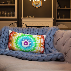432 Hz Premium Pillow