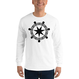 Anunnaki Communications Aquarius Crop Circle Long Sleeve T-Shirt