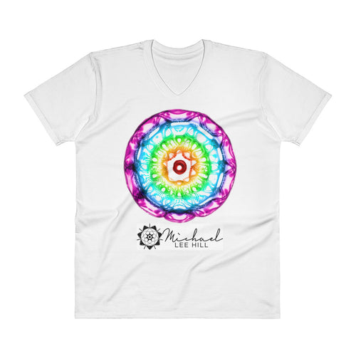 432 HZ V-Neck T-Shirt