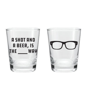 Maddon's Post 'A Shot and a Beer' Shot Glass | Maddon's Post