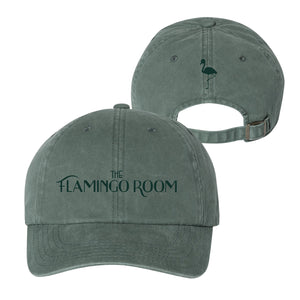 Maddon's Post Flamingo Room Sage Garment Dyed Adjustable Slouch Cap | Maddon's Post