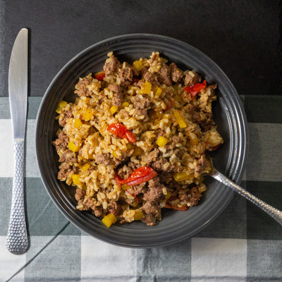 Bayou Rice - FitnessFeasts