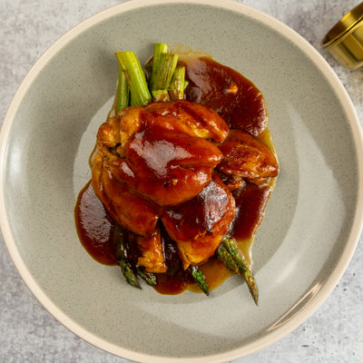 BBQ Braised Chicken - FitnessFeasts