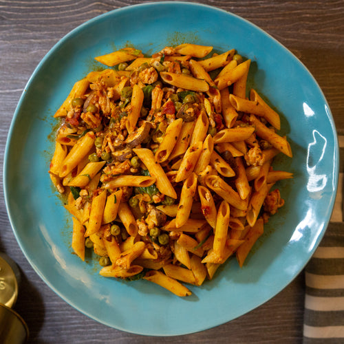 Winter Rustic Pasta - FitnessFeasts