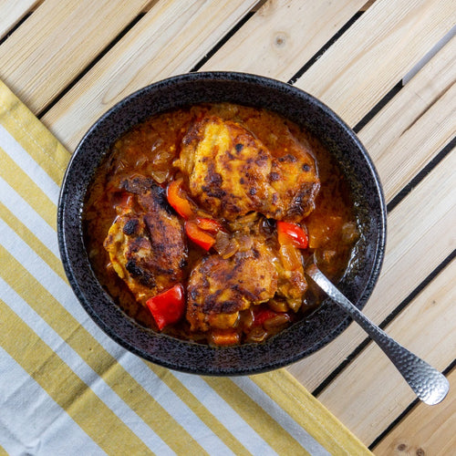 Dominican Braised Chicken - FitnessFeasts