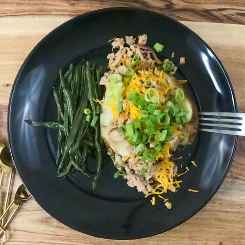 FF Baked Potato - FitnessFeasts