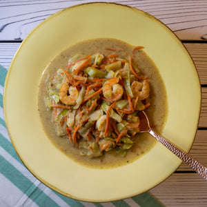 Green Shrimp Curry - FitnessFeasts