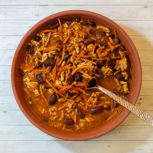 Spicy Turkey Chili - FitnessFeasts