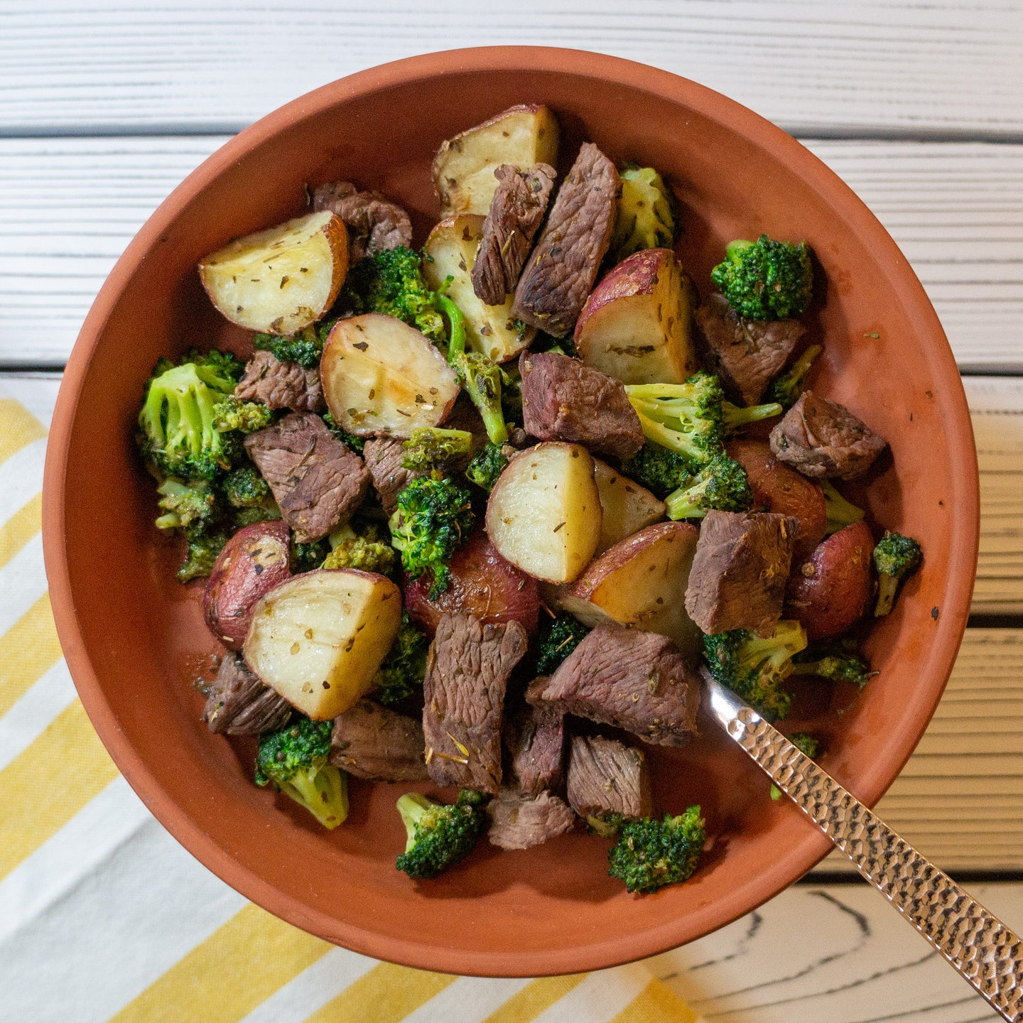 Steak & Potatoes - FitnessFeasts