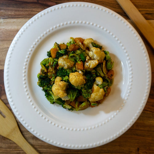 Vegan Vegetable Hash - FitnessFeasts