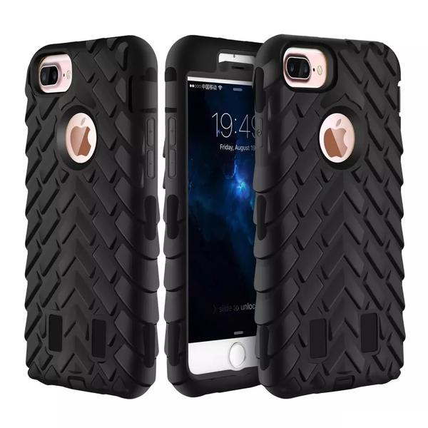 online retailer ed6a3 248ae Tyre Grain Heavy Duty Hybrid Case Cover for iPhone 6 / 6s / 7 / 8