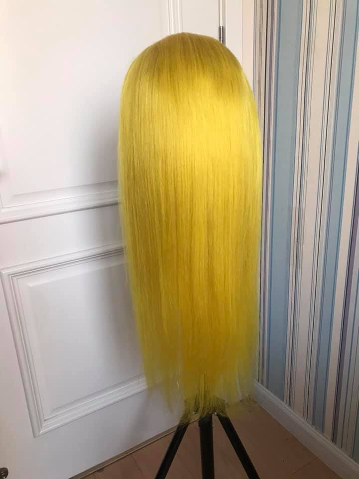 22inch 13x6 lace frontal wig 🍋 150% Density Pre Plucked Hair