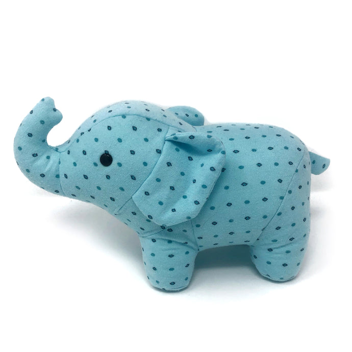 Memorial Elephant Made from Pyjamas