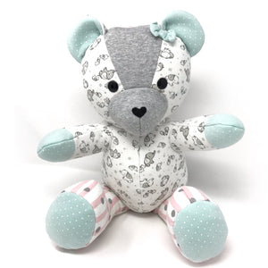 keepsake weighted teddy bear