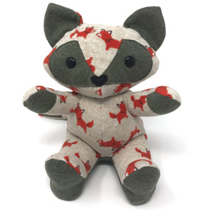 cutest baby keepsake fox stuffed animal