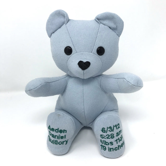 Remade Baby Keepsake Bear