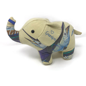 memorial elephant stuffed animal