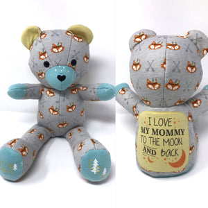 birth weight keepsake teddy bear