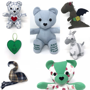 memory bears for the holidays