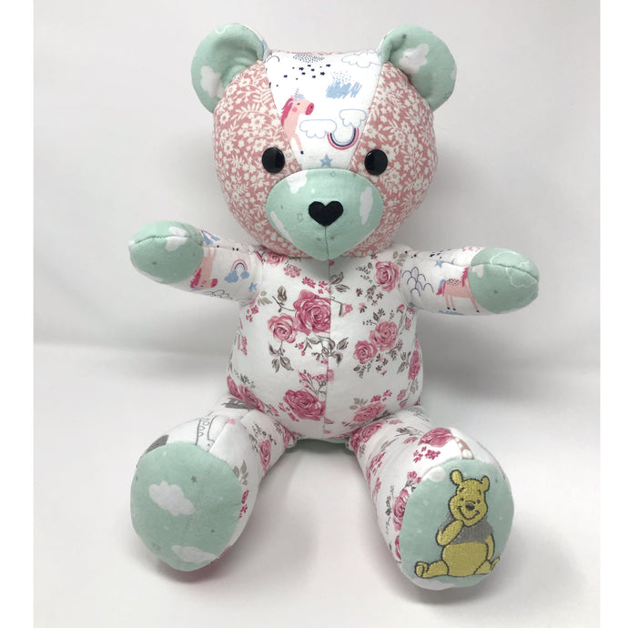 Baby Girl's Birth Weight Teddy Bear