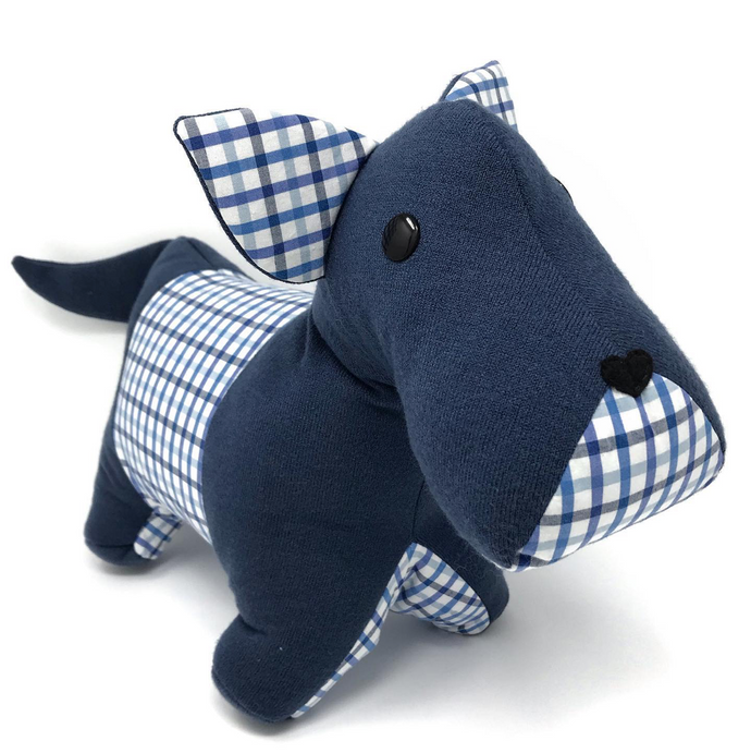 Memorial Scottie Dog Stuffed Animal