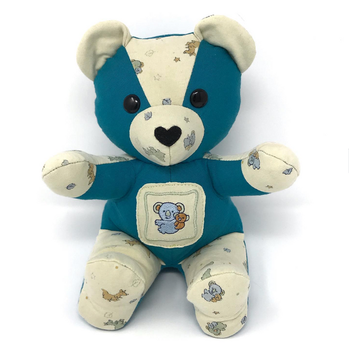 Keepsake Bear from Baby and Adult Clothes
