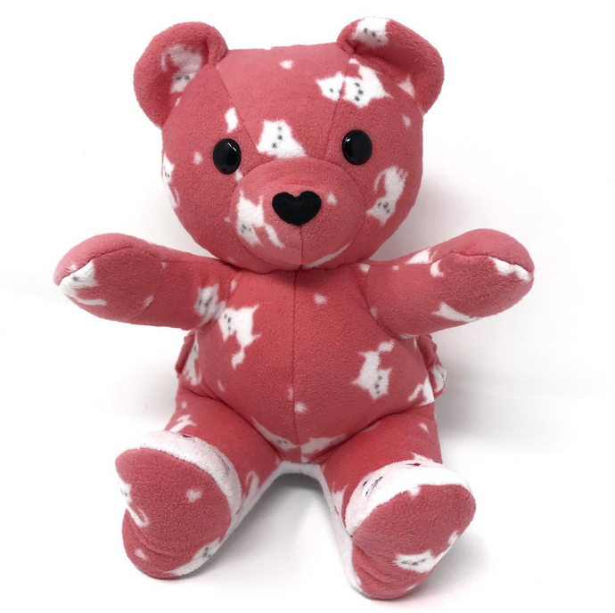 Keepsake Bear made from Baby Clothes