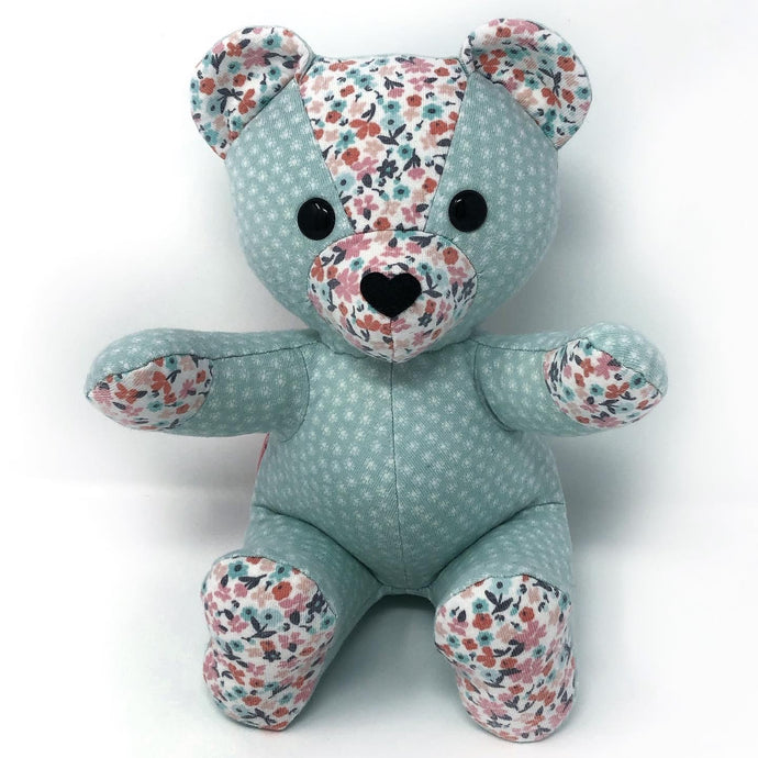 Baby Clothes Keepsake Teddy Bear