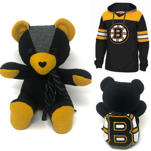 boston bruins memory bear