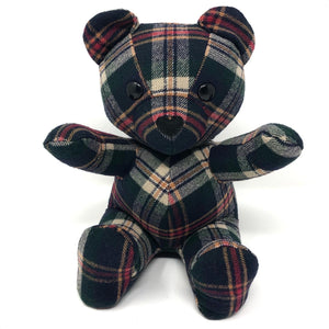 memory bear made from shirt