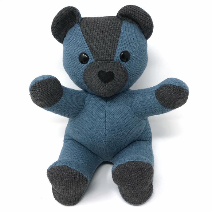 Memory Bear Made from a Thermal Shirt
