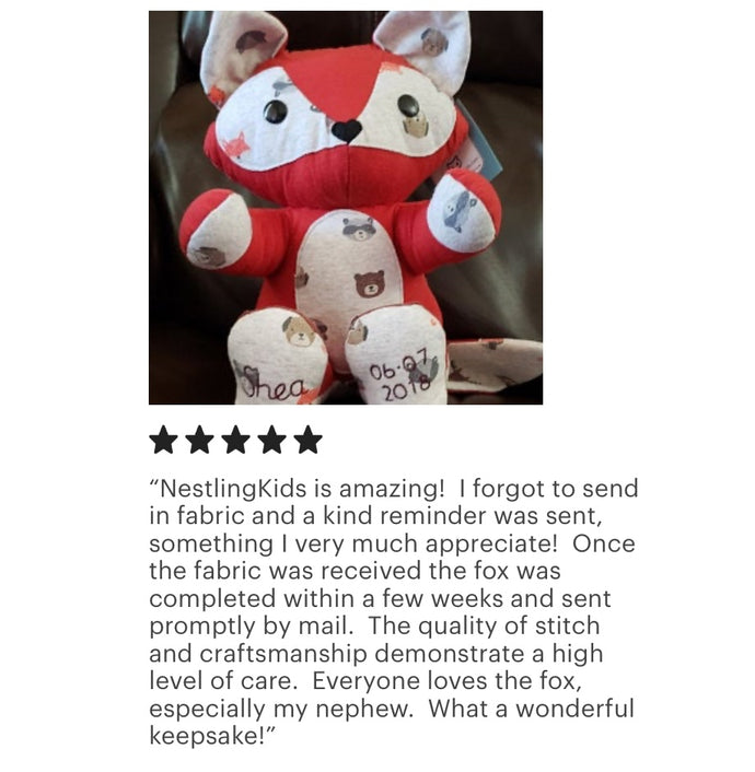 Memory Fox 5 Star Review!