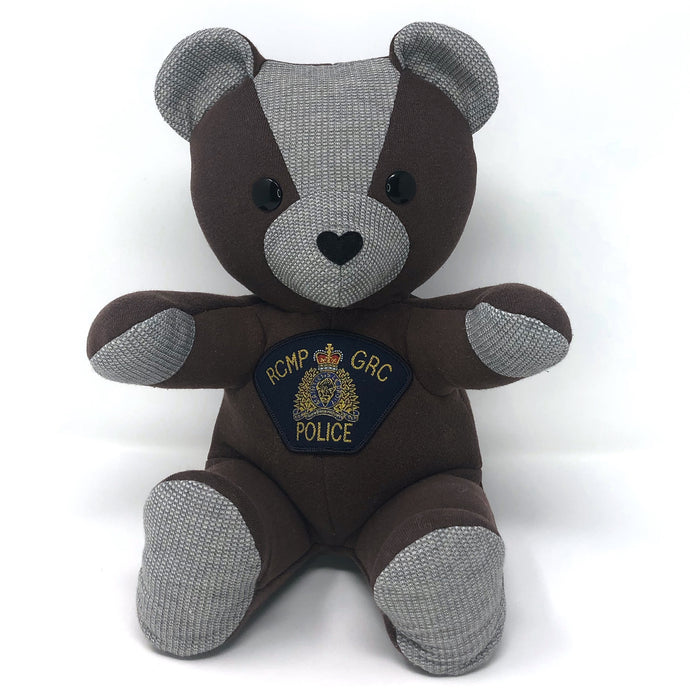 Memorial Bear for an RCMP Member
