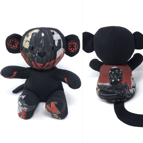 star wars keepsake monkey stuffed animal