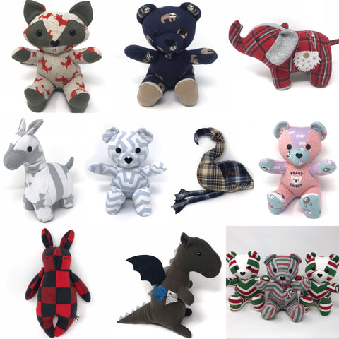 keepsake and memorial stuffed animals