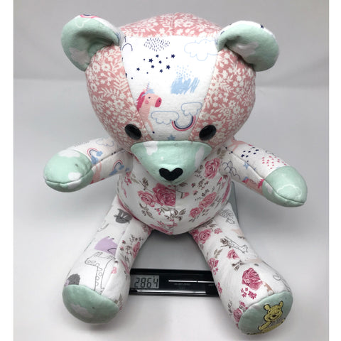 weighted baby clothes bear