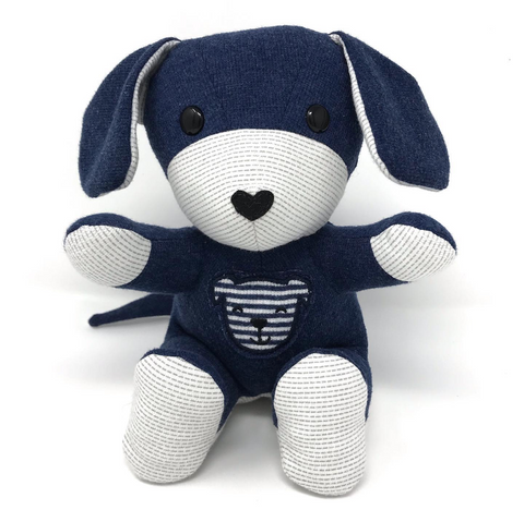 baby clothes keepsake puppy