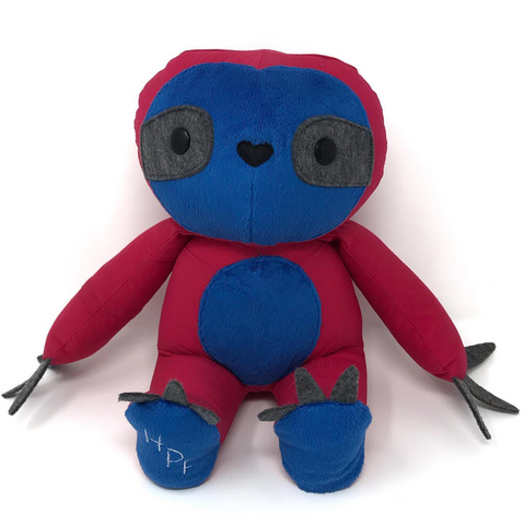 keepsake sloth stuffed animal