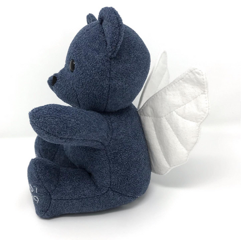 memorial angel keepsake bear