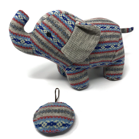 Memorial Elephant made from a Sweater
