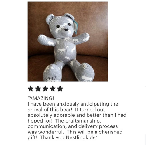 Birth weight memory bear review