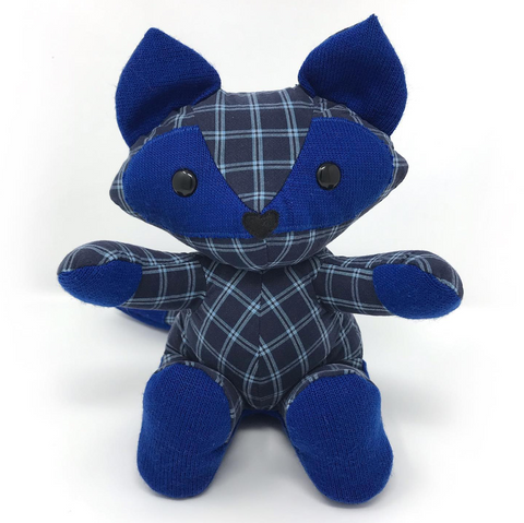 memorial fox stuffed animal
