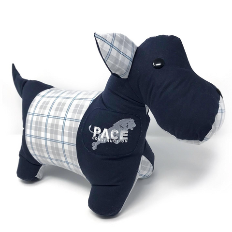 memory Scottie dog stuffed animal