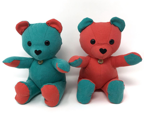matching pair of keepsake bears
