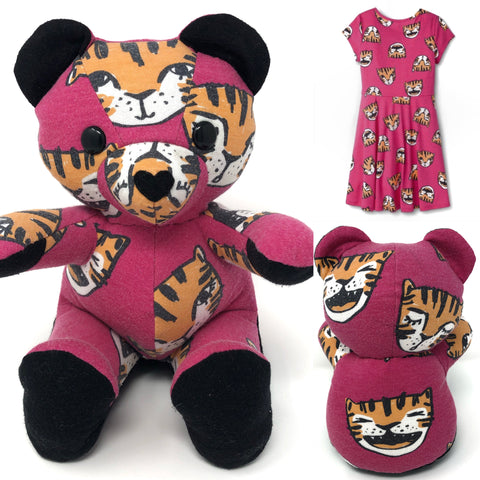 toddler dress keepsake teddy bear