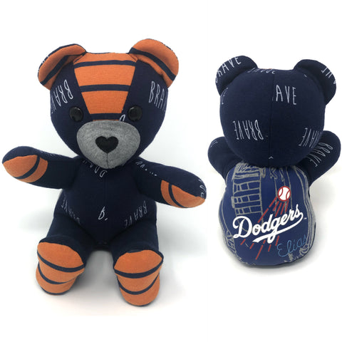 Baby clothes memory bears