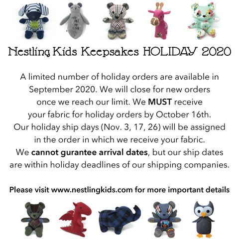 Nestling Kids Keepsakes Christmas 2020